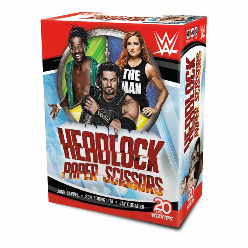 WWE: Headlock, Paper, Scissors Card Game