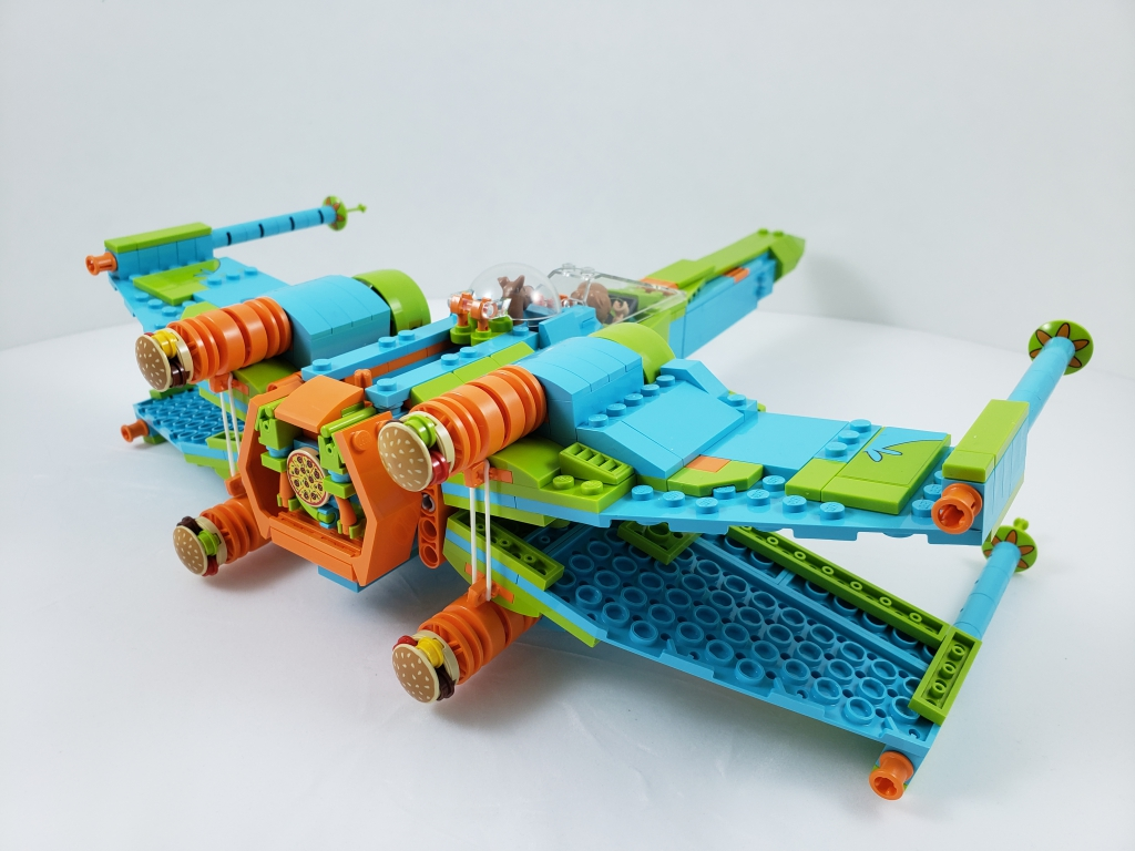 Lego Mystery Machine X-Wing