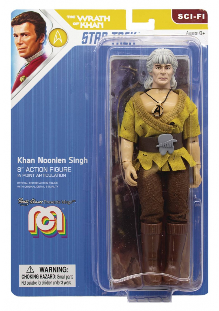 Mego Star Trek II Action Figure - Khan Noonien Singh