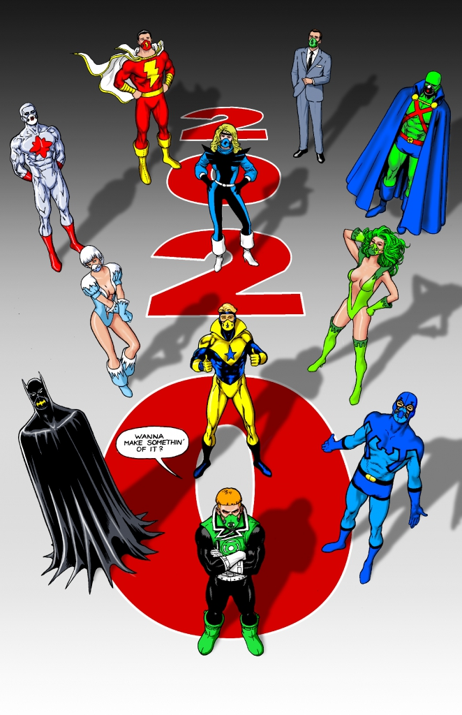 Justice League International Masked Up By Kevin Maguire