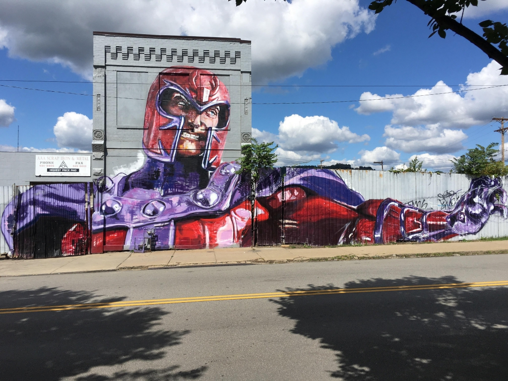 Magneto Mural
