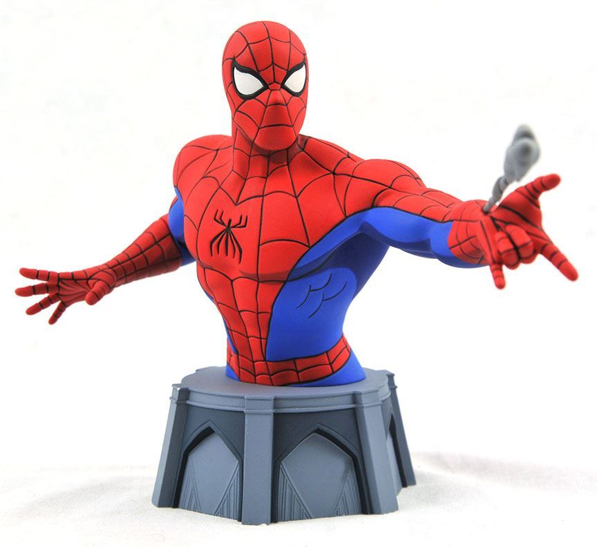 Diamond Select Animated Spider-Man Bust