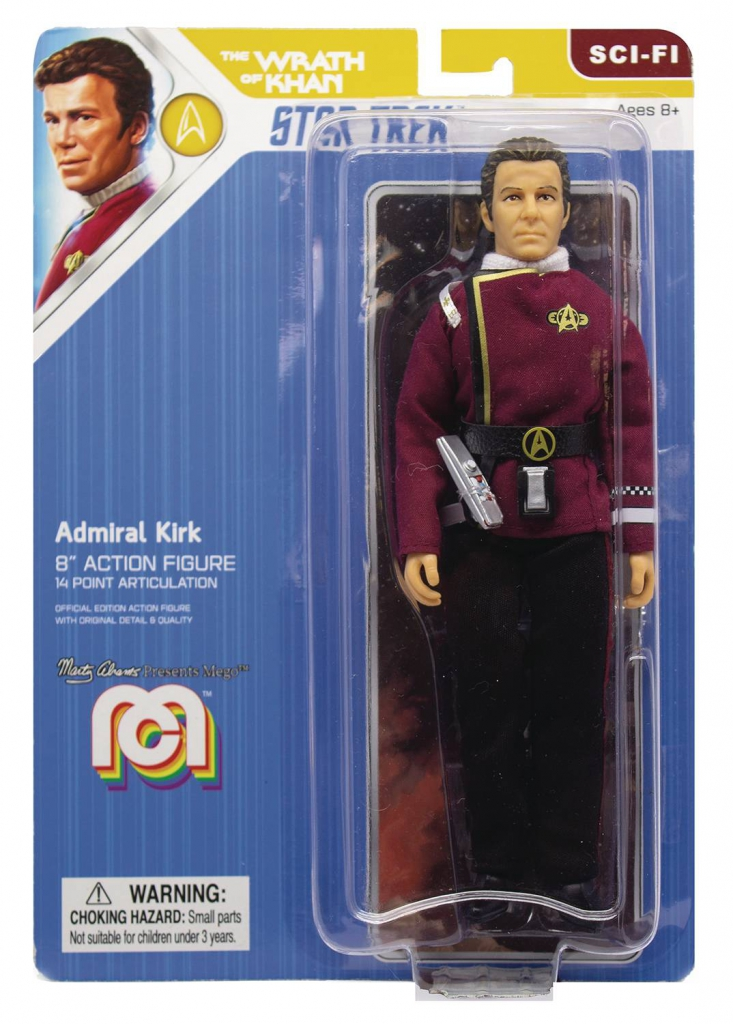 Mego Star Trek II Action Figure - Admiral Kirk