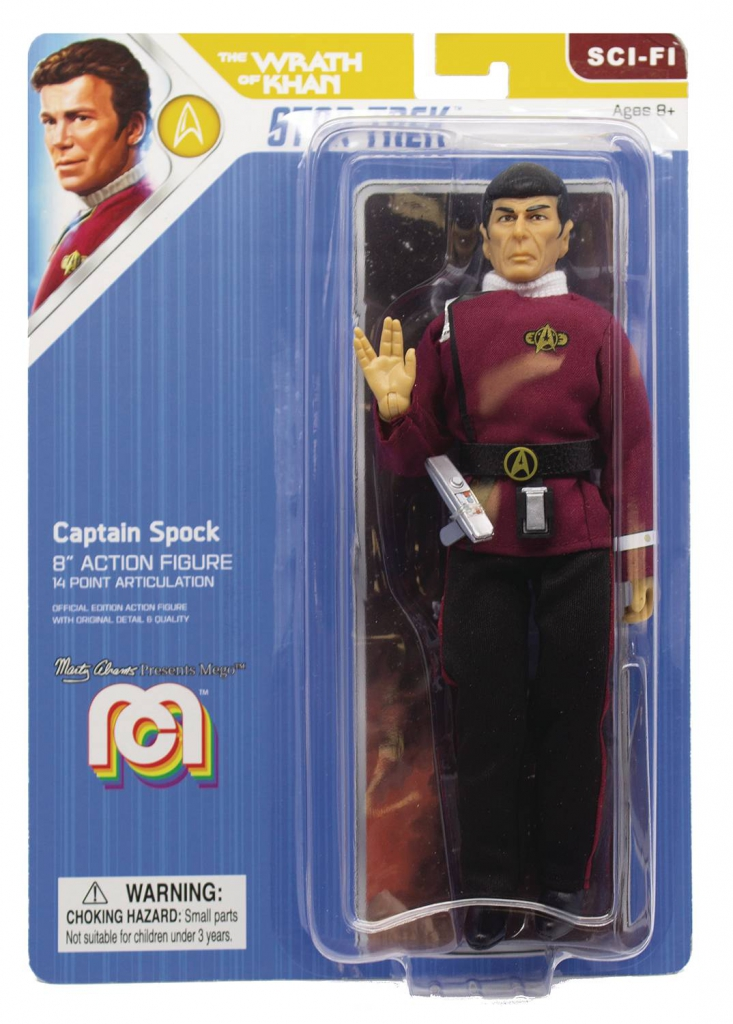 Mego Star Trek II Action Figure - Captain Spock