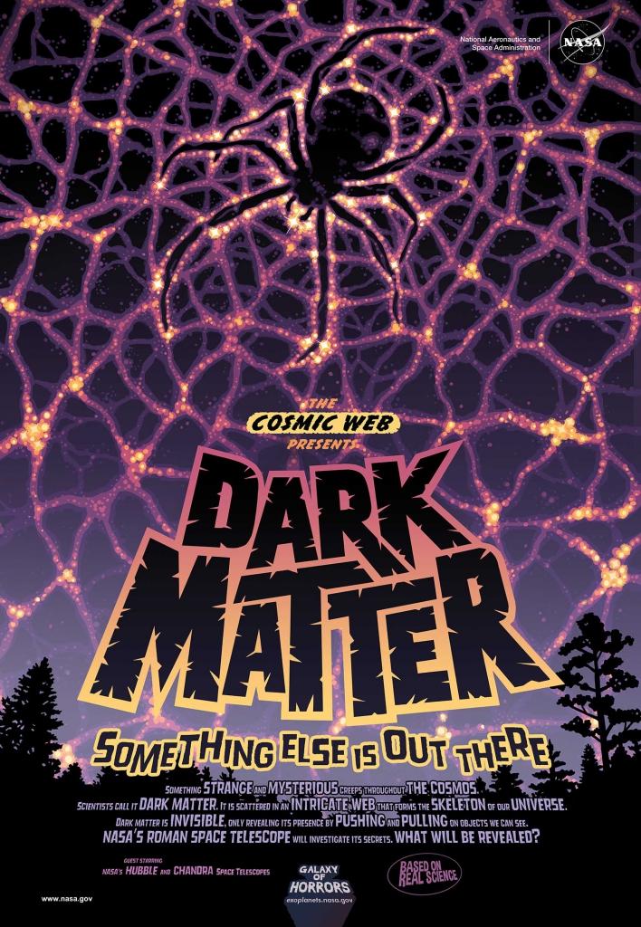 NASA Halloween Poster - Dark Matter