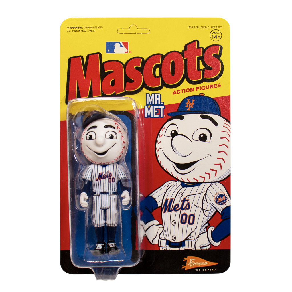 ReAction MLB Mascots - Mr. Met