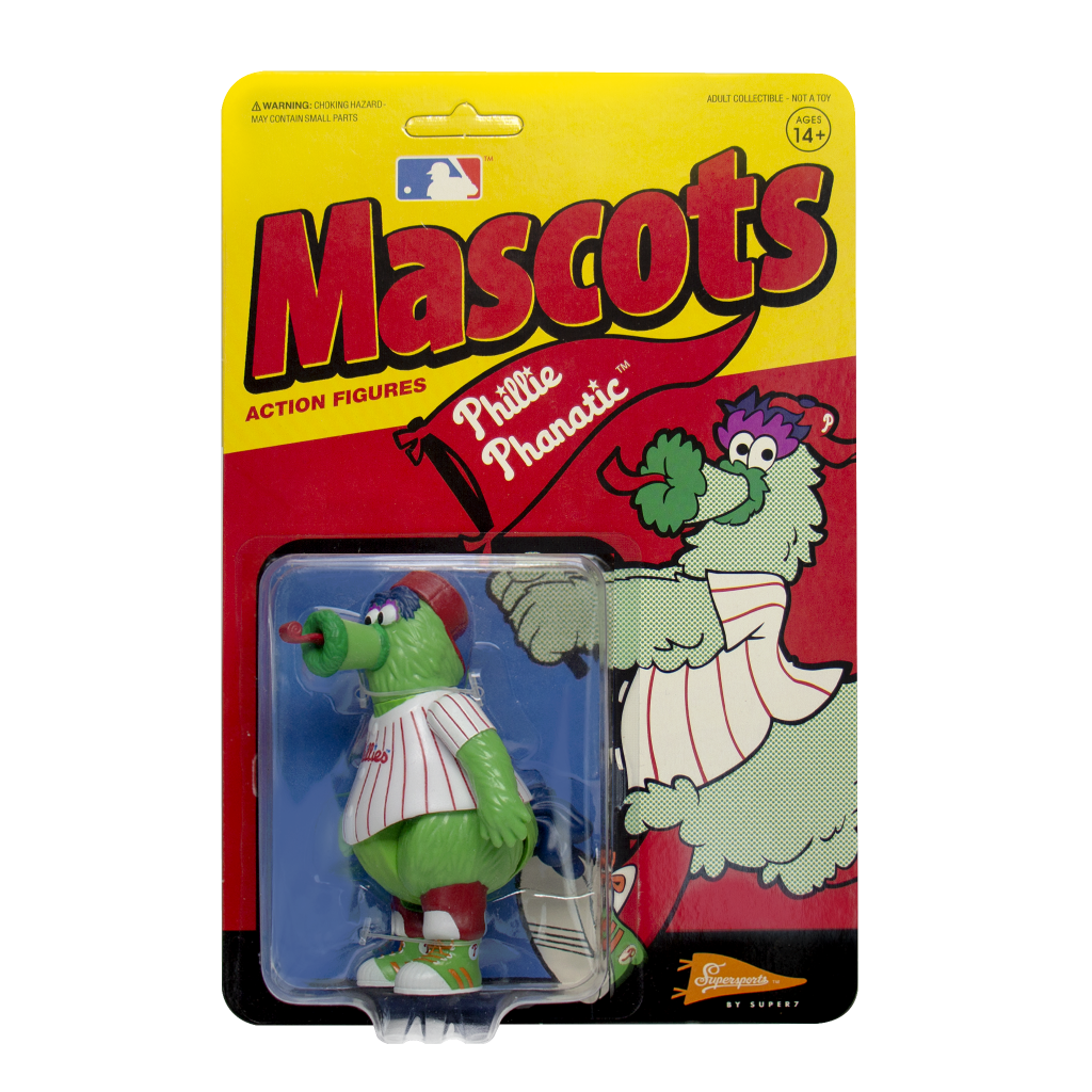 ReAction MLB Mascots - Phillie Phanatic