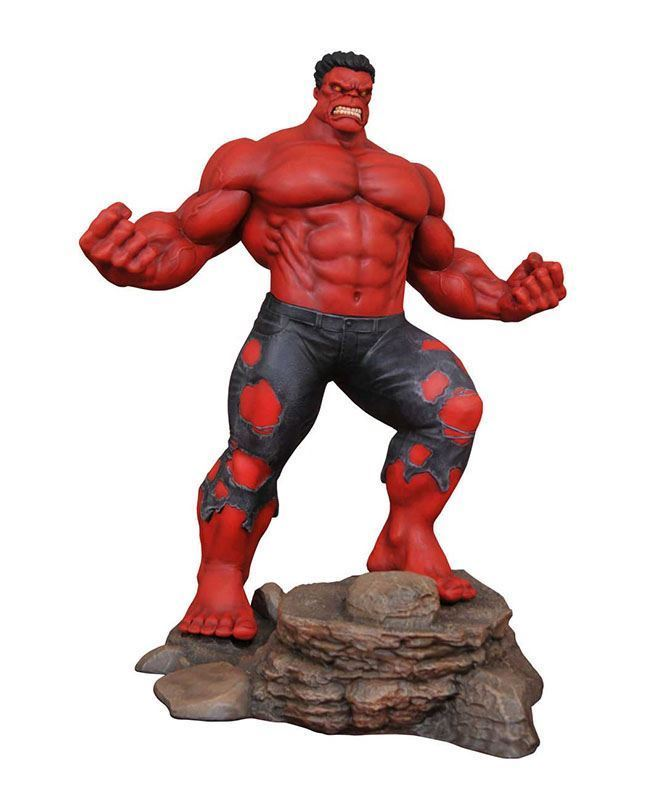 Red Hulk PVC Statue