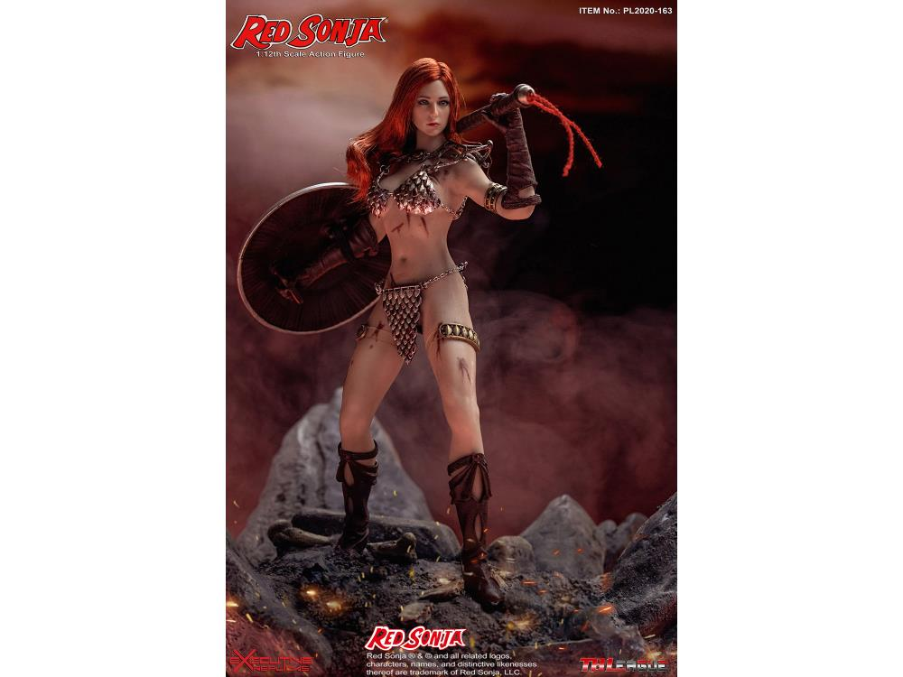 Red Sonja 1/12 Scale Action Figure