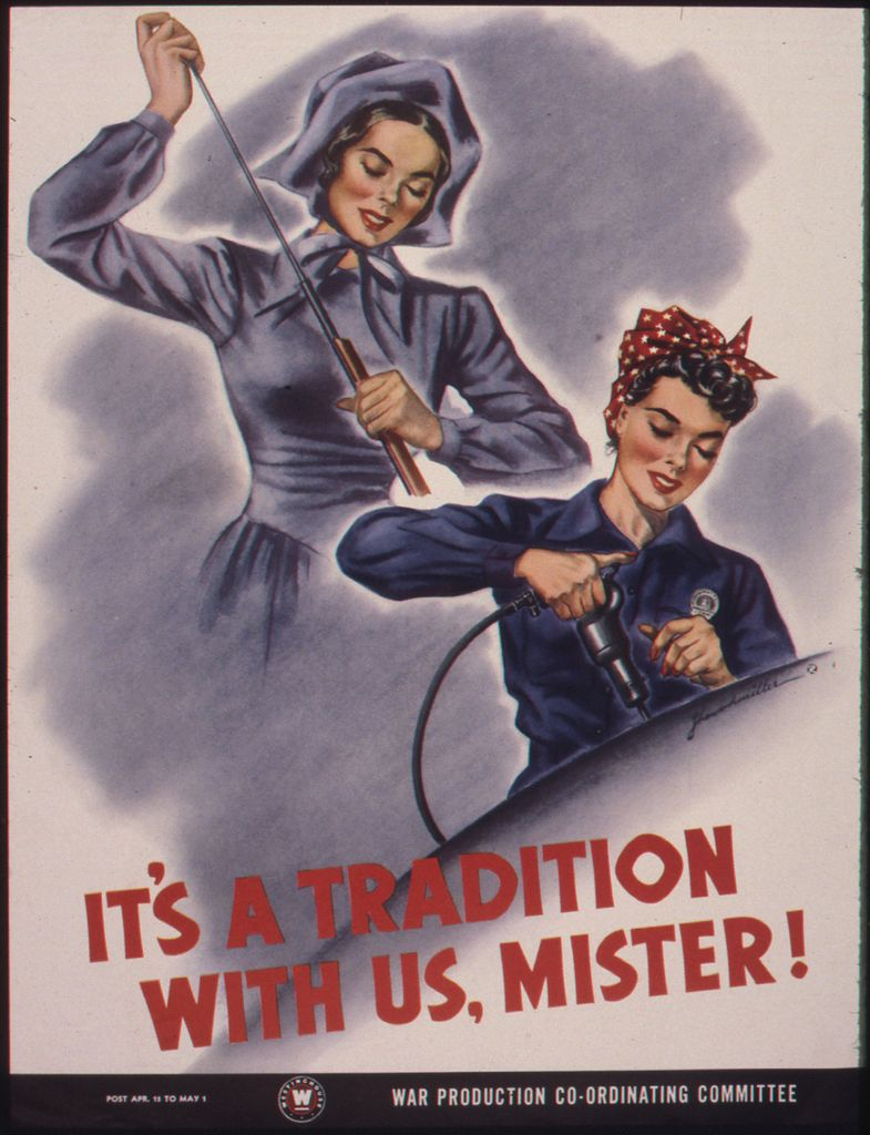 World War II Propaganda Poster - It's A Tradition With Us, Mister!