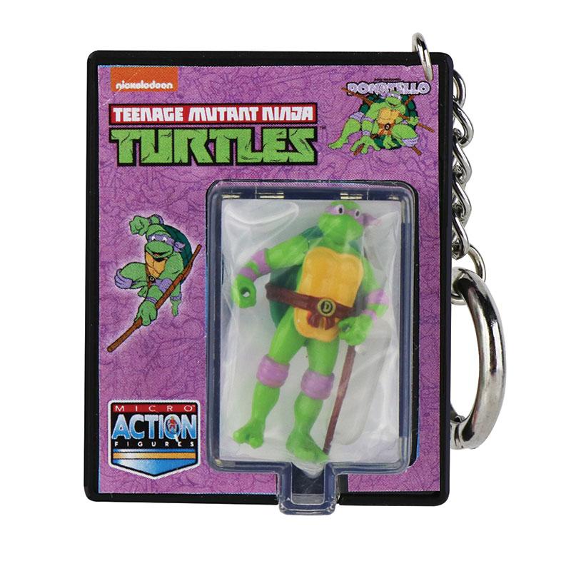 World's Smallest Teenage Mutant Ninja Turtles Micro Action Figures - Donatello