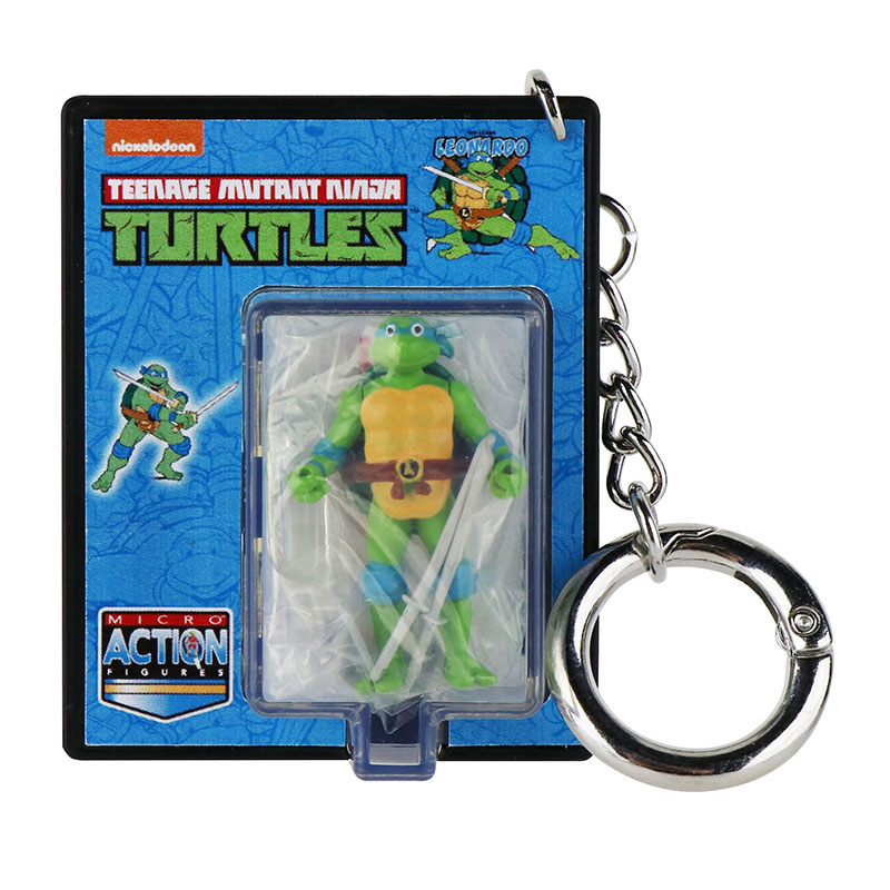World's Smallest Teenage Mutant Ninja Turtles Micro Action Figures - Leonardo