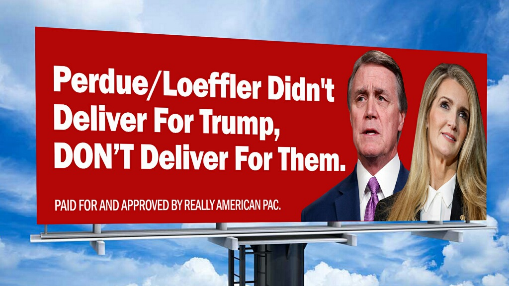 ActBlue Georgia Billboard