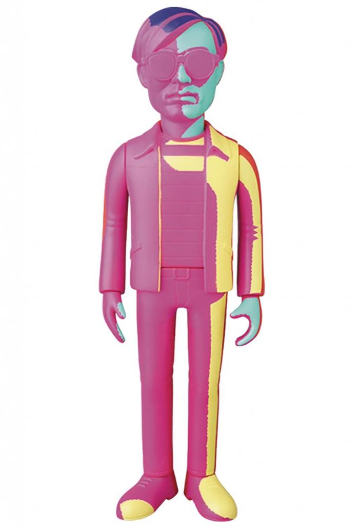 Andy Warhol Vinyl Doll - Silkscreen Variant