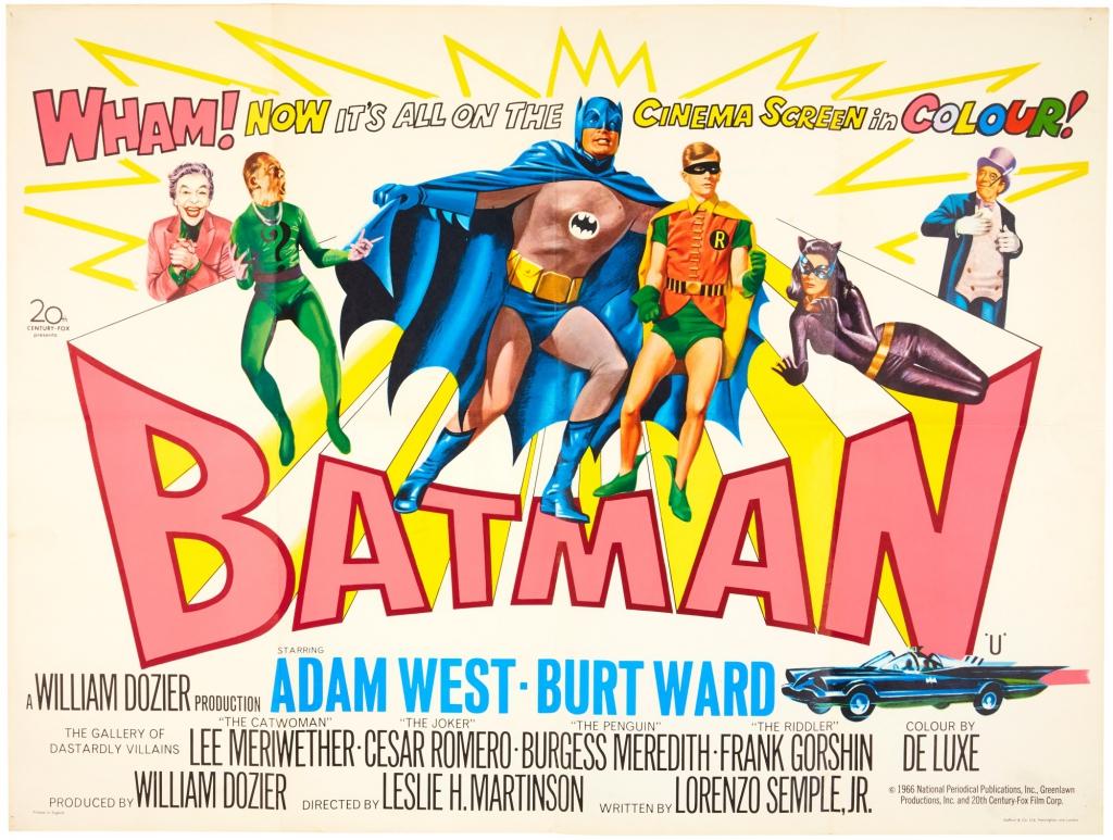 Batman (1966) UK Movie Poster