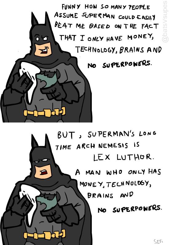 Batman Has A Point