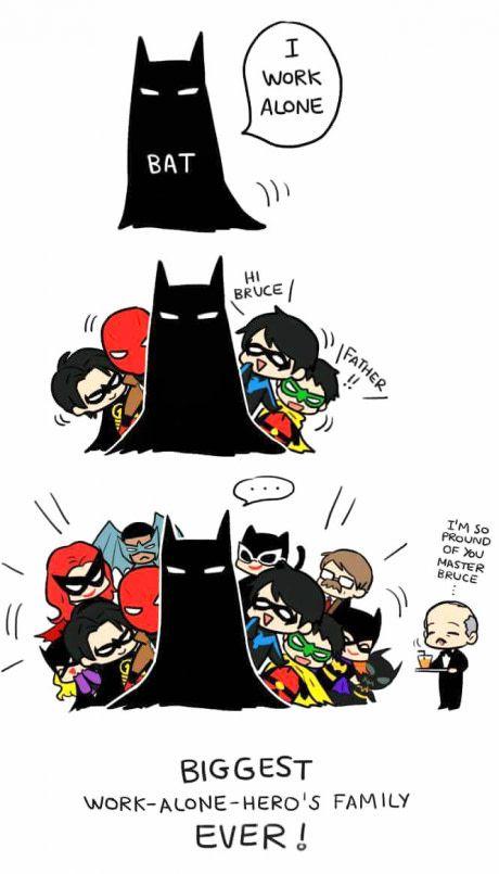 Batman Works Alone