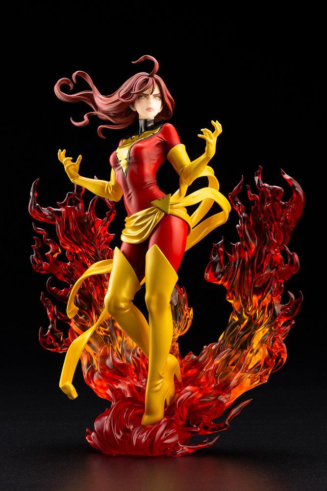 Dark Phoenix Rebirth Bishoujo Statue