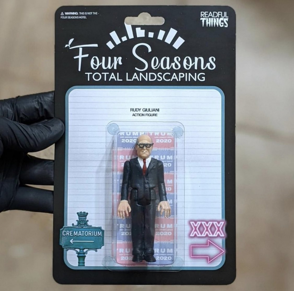Rudy Giuliani Four Seasons Total Landscaping Custom Action Figure