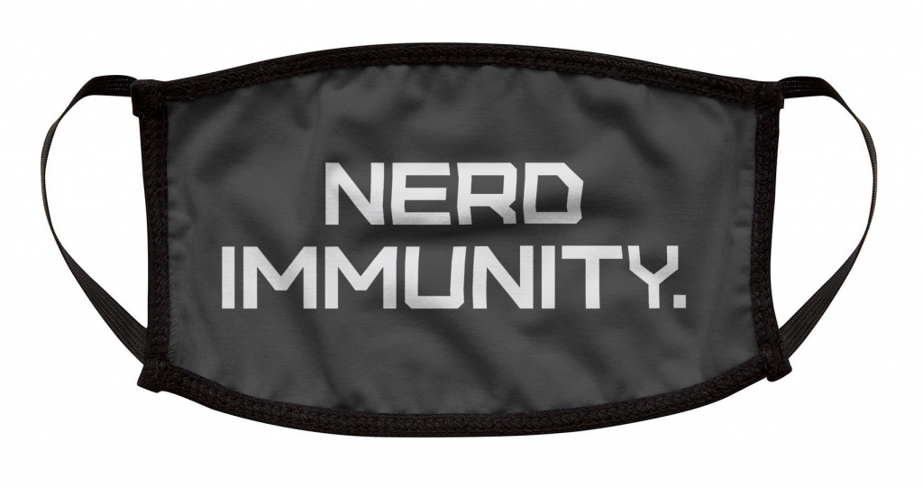 Nerd Immunity Facemask