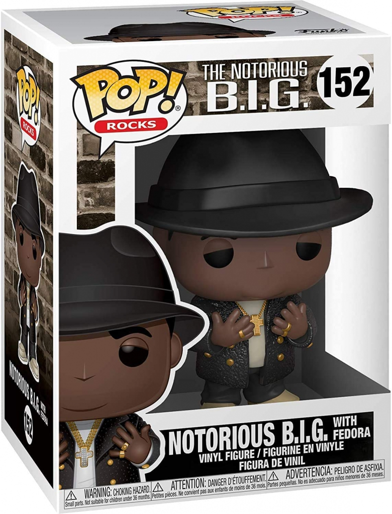 Funko Pop! Notorious B.I.G. With Fedora