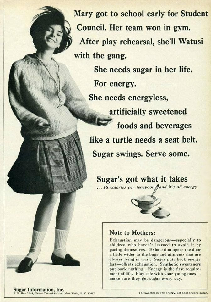 Sugar Information Inc. Ad, 1966