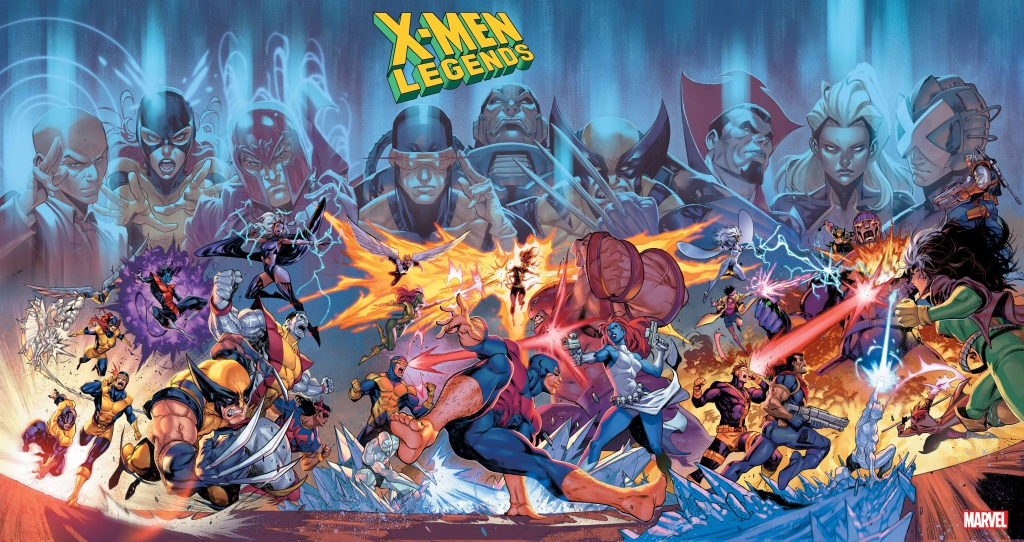 X-Men Legends Variant Covers by Iban Coello