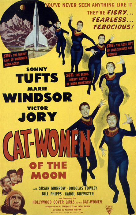 Cat Women of the Moon Movie Poster