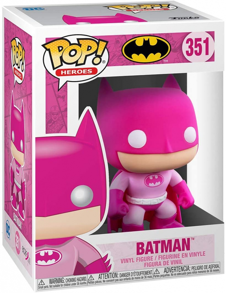 Funko Pop! Breast Cancer Awareness - Batman