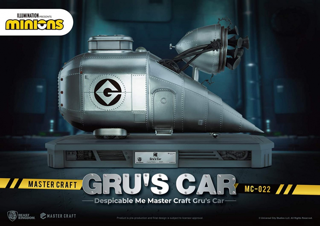 Statue of Gru's Car from Despicable Me