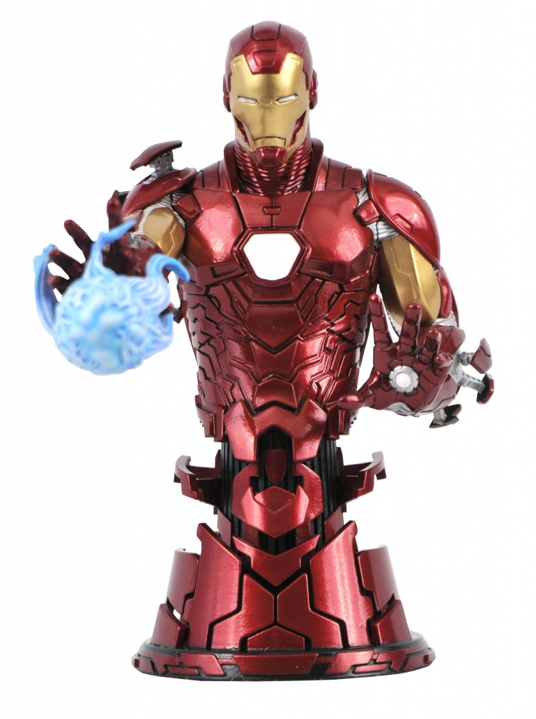 Iron Man 1/7 Scale Mini-Bust