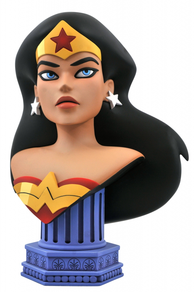 Legends in 3D–Justice Leage Animated Wonder Woman 1/2 Scale Bust