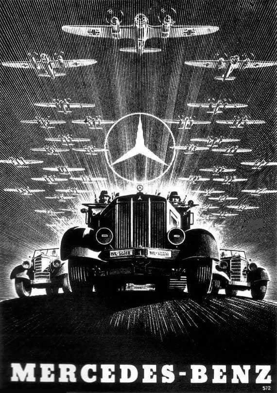Mercedez-Benz Ad, 1930s