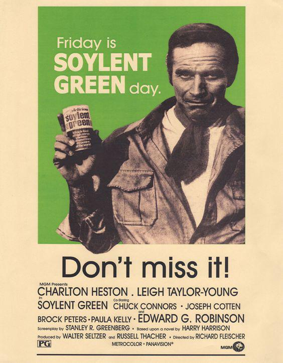 Ad: Friday Is Soylent Green Day
