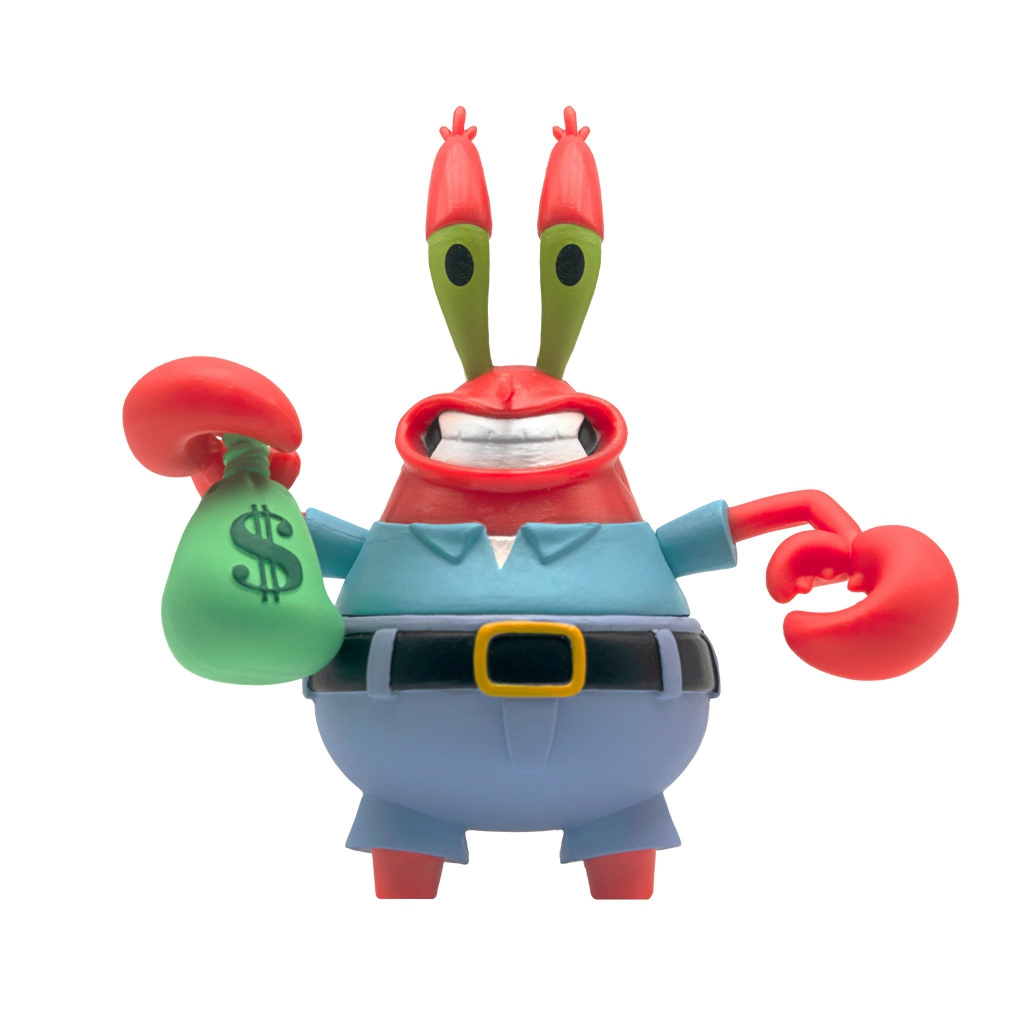 SpongeBob SquarePants ReAction Figures - Mr. Krabs