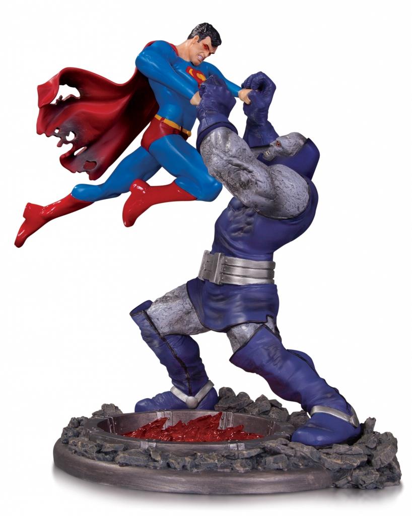 Superman vs. Darkseid Battle Statue