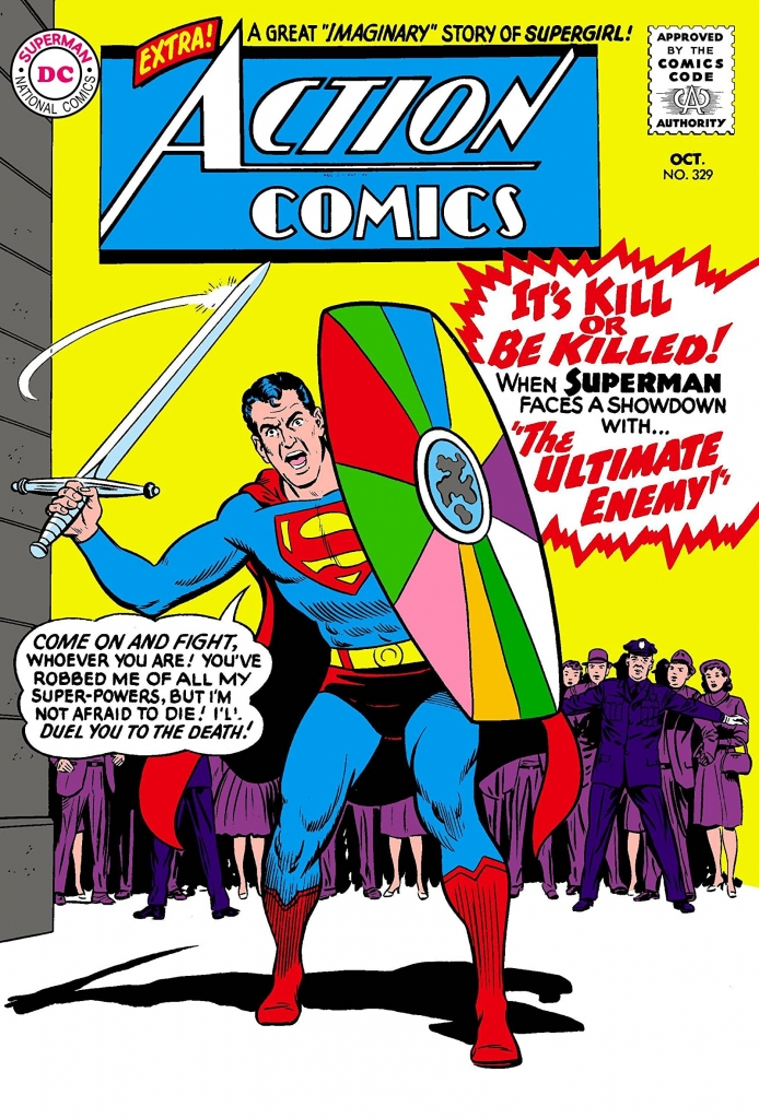 Action Comics 239 Cover - Superman vs. The Ultimate Enemy