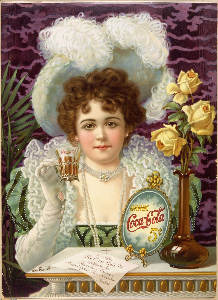 Coca Cola 5 Cents - 1890s ad