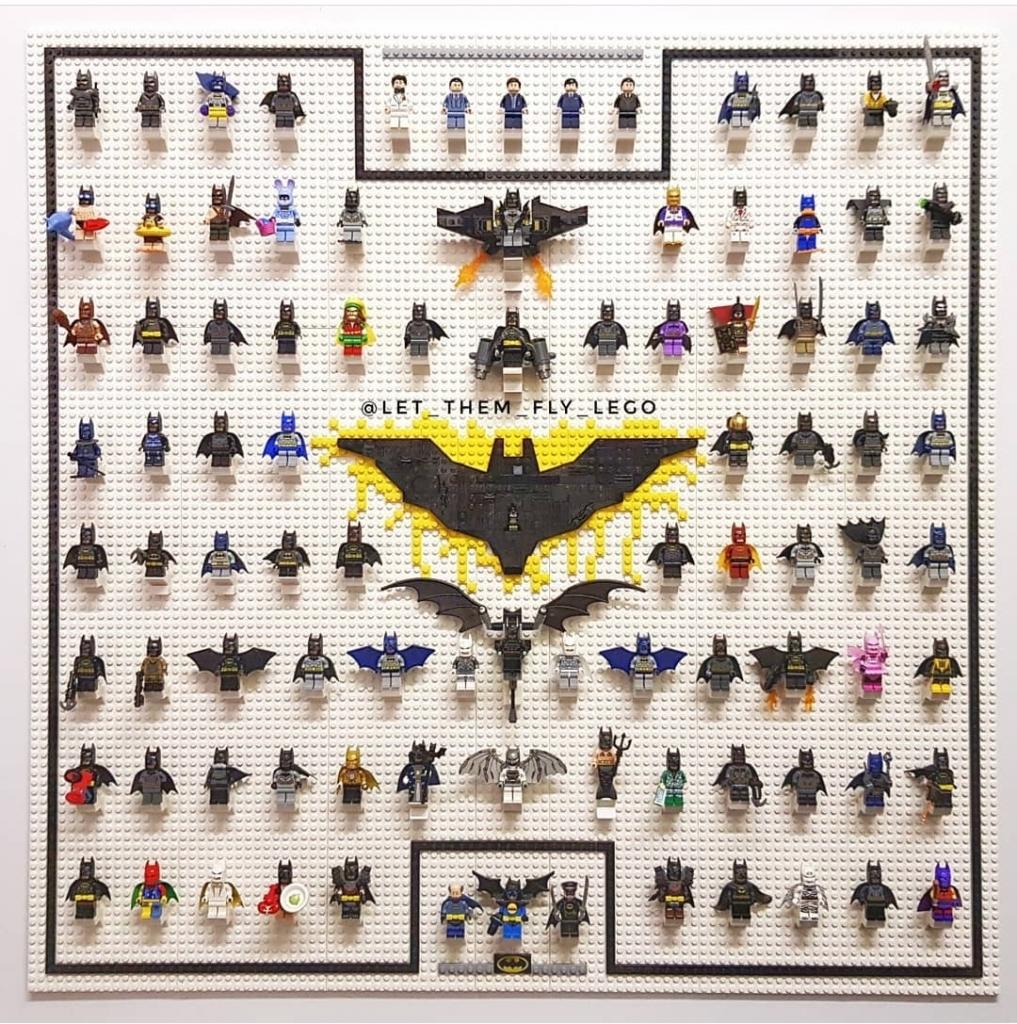 Every Lego Batman Minifig