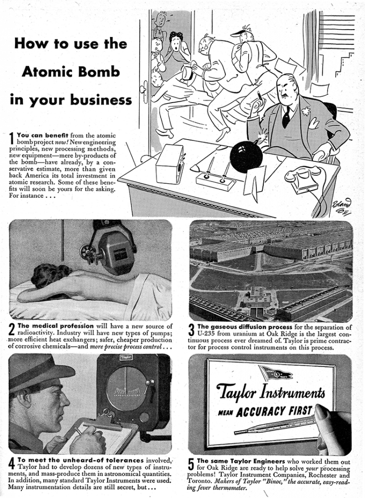 How To Use the Atomic Bomb In Your Business