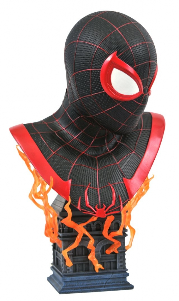 Legends in 3D–Miles Morales 1/2 Scale Bust