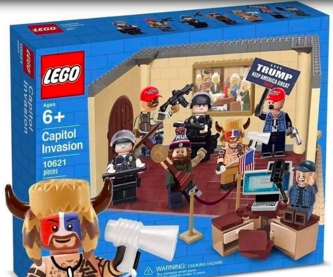 Lego Capitol Invasion Set