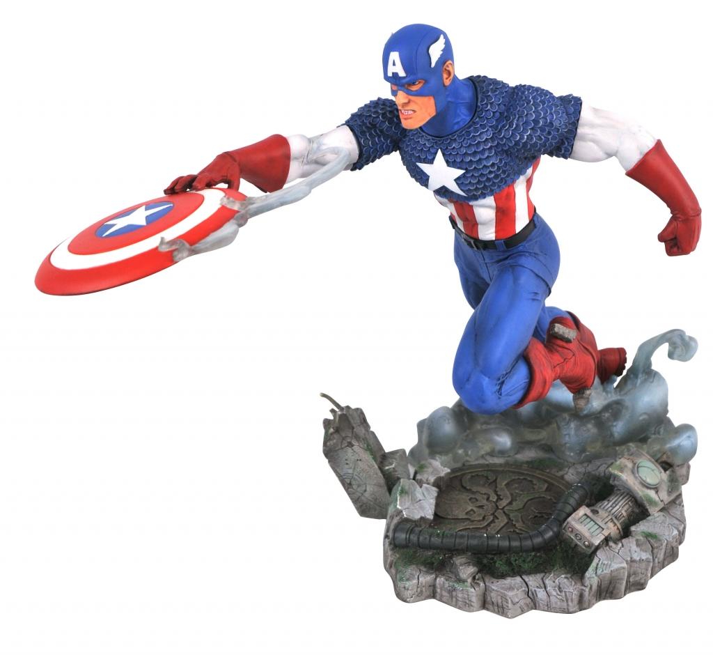 Marvel Gallery VS Captain America PVC Statue