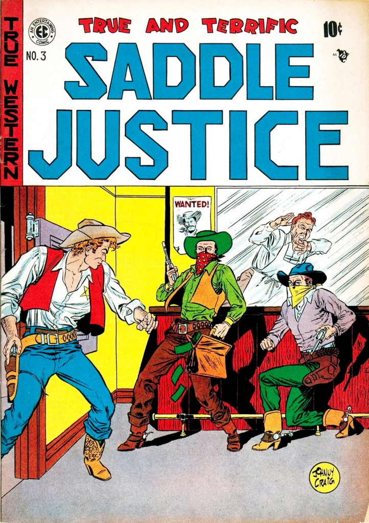 Saddle Justice - Issue 3 - April 1948