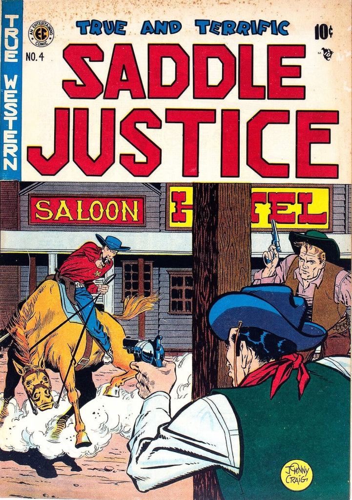 Saddle Justice - Issue 4 - July 1948