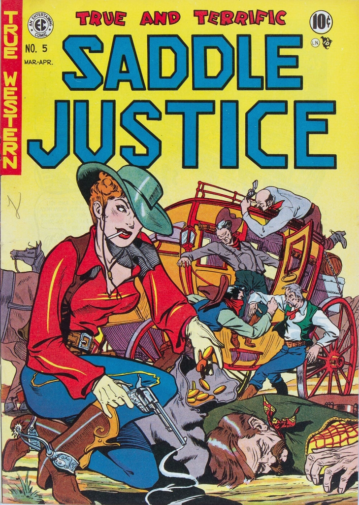 Saddle Justice - Issue 5 - April 1949