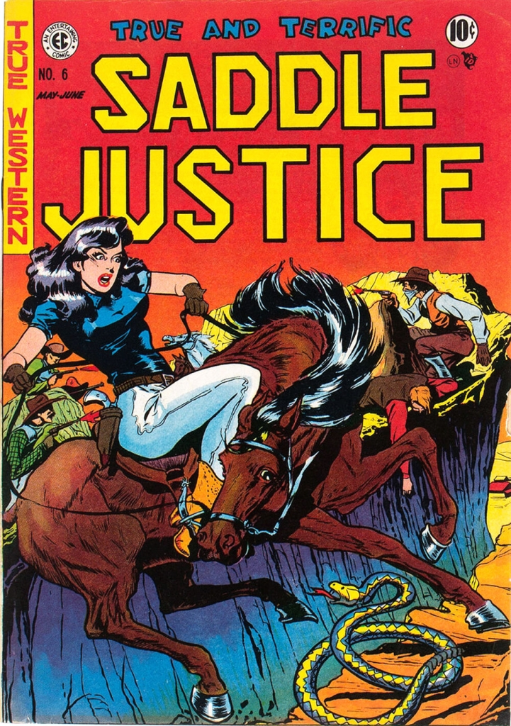 Saddle Justice - Issue 6 - June 1949