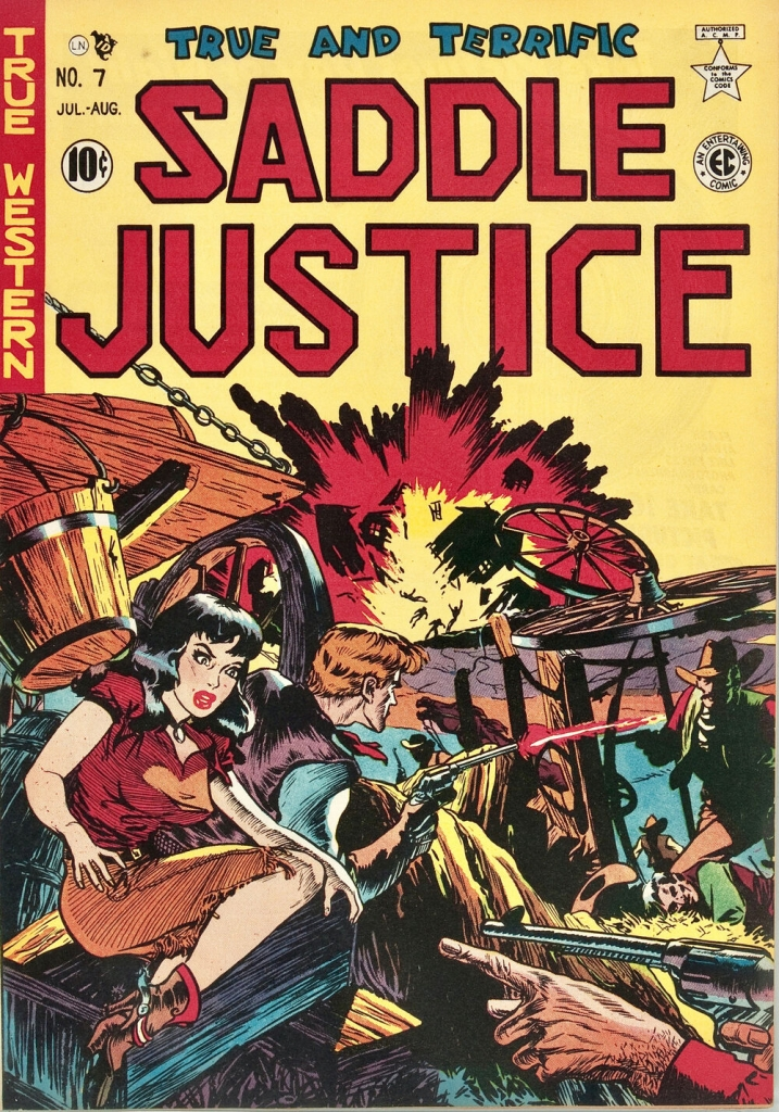 Saddle Justice - Issue 7 - August 1949