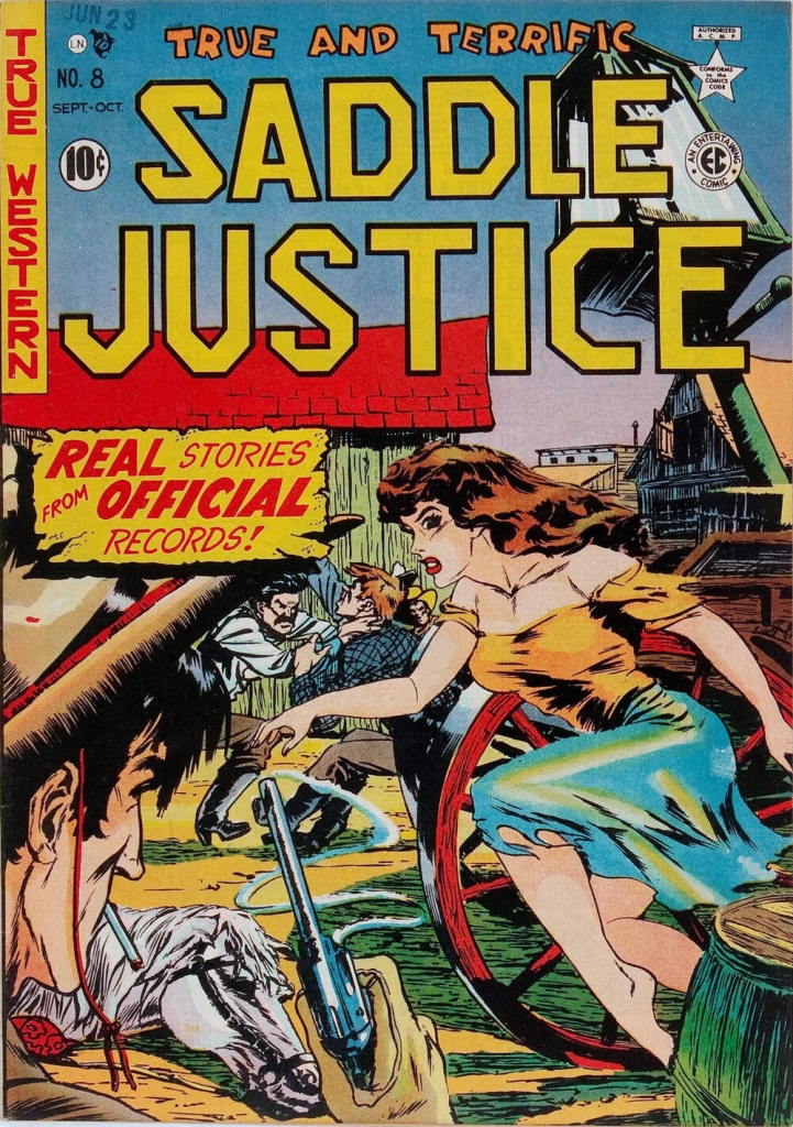 Saddle Justice - Issue 8 - October 1949