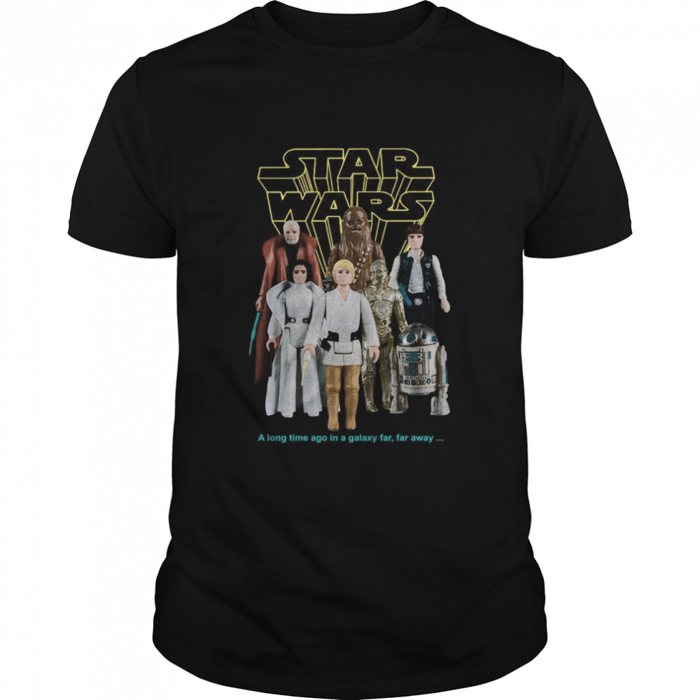 Star Wars Good Guys Action Figures T-Shirt